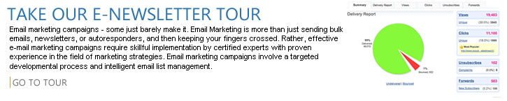 Take our e-newsletter tour